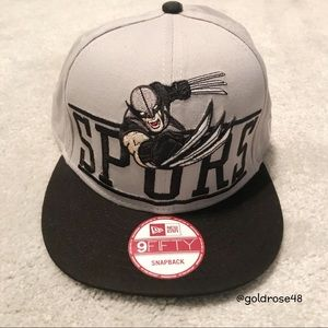 New Era Spurs Wolverine snapback hat